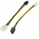 Rallonge PCIE 6pins vers 6pins (qualité 18AWG)