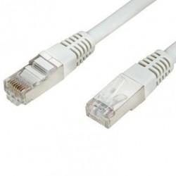 Câble cordon réseau blindé 25m - Blanc